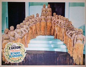 Samuel Goldwyn Productions - Lobby card for Roman Scandals (1933)