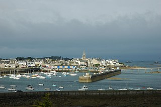 Roscoff Commune in Brittany, France