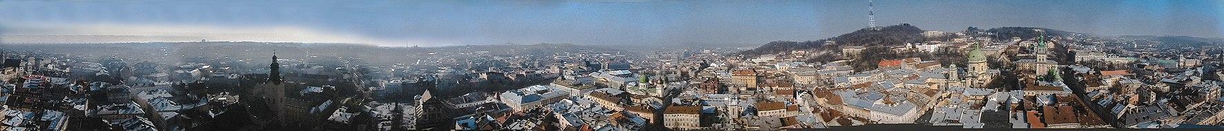 Панорама центру Львова з Ратуші (2007) 3b3b24bd01c9b