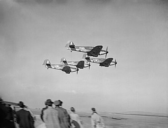 Eagle Squadrons - Miles Masters of No. 5 Service Flying Training School, flown by volunteers for No. 71 (Eagle) Squadron