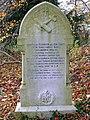 Royal Flying Corps grave, All Saints, Yatesbury - geograph.org.uk - 1057578.jpg