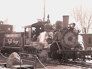Royal Gorge Route Railroad - Royal Gorge 40
