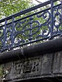 Royal insignia on Bonner Hall Bridge - geograph.org.uk - 1537975.jpg