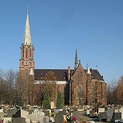 Ruda Slaska John Baptist church.jpg