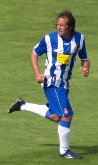 Francisco Rufete - Rufete playing for Espanyol in 2009
