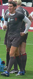 James Hook (rugby union) Rugby player