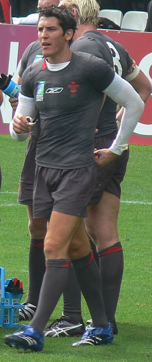 James Hook (rugby union) - Image: Rugby World Cup 2007 James Hook