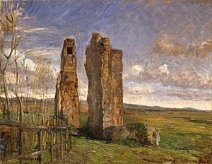 Albert Gottschalk - Image: Ruiner i Campagnen (Gottschalk)