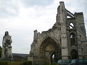 Gerbod the Fleming, 1st Earl of Chester - Ruins of Saint Bertin Abbey at Saint-Omer