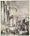 Ruins of the Palace of the Emperor Diocletian at Spalatro in Dalamatia MET 035 0r2m 99A.jpg