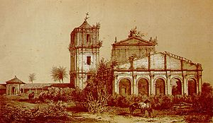 Guaraní people - Ruins of the church at São Miguel das Missões, Rio Grande do Sul, Brazil.