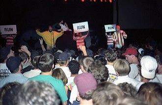 De La Soul - Performing in 1991 at the Dillon Gymnasium