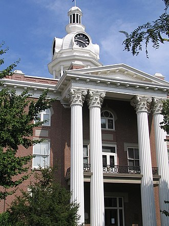 Rutherford County Courthouse (Tennessee) - Image: Rutherford tennessee county courthouse