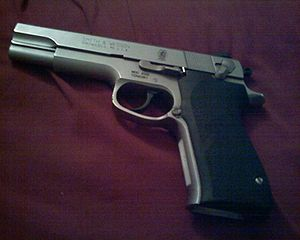 Smith & Wesson Model 4506 - Left-side view
