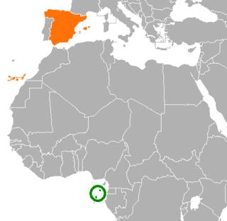 São Tomé and Príncipe–Spain relations