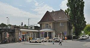 Buch (Berlin) - Image: S Bahnhof Berlin Buch (2009)