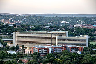 South African Bureau of Standards - Head Office of the South African Bureau of Standards in Pretoria.