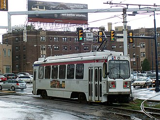 69th Street Transportation Center - Image: SEPTA K Car Suburban