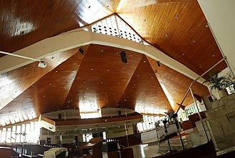Sacred Heart Cathedral, Kota Kinabalu - Interior and Ceiling of the Cathedral