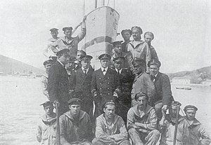 SM U-6 (Austria-Hungary) - The successful crew after the sinking of Destroyer Renaudin