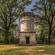 Blücher-Mausoleum von Johann Heinrich Strack in Krieblowitz (Quelle: Wikimedia)