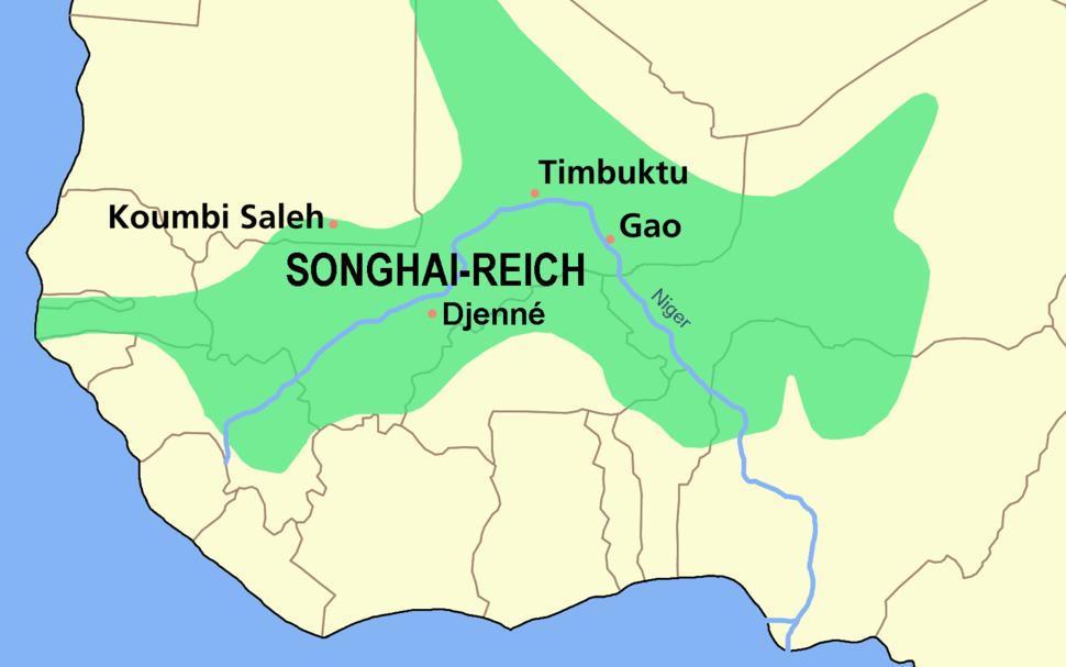SONGHAI reich karte