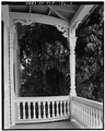 SOUTHEAST (FRONT) VERANDA, SECOND STORY - Eduardo H. Gato House, 1209 Virginia Street, Key West, Monroe County, FL HABS FLA,44-KEY,5-3.tif