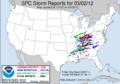 SPC Storm Reports 20120302.png