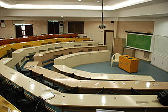 S. P. Jain Institute of Management and Research - A lecture hall at SPJIMR