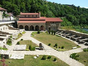 Second Bulgarian Empire - The Church of the Holy Forty Martyrs where Kaloyan was buried.