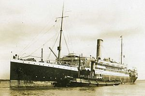 HMT Aragon - Image: SS Aragon 1908