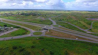 Sir Solomon Hochoy Highway - Debe intersection