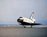 STS-41-C landing