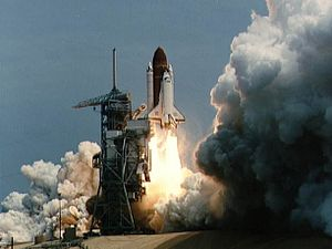 STS-51-B - Challenger launches on STS-51-B