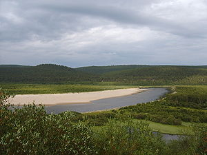 Finnmarksvidda - The lowest elevations can be found in the eastern part of Finnmarksvidda, near Karasjok and Tana. River valleys in the area are only 100 - 250 m above sea level.