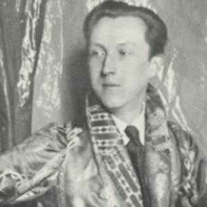 Sacheverell Sitwell - Image: Sacheverell Sitwell in 1927