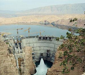 Seimare Dam - Image: Sad e seymareh