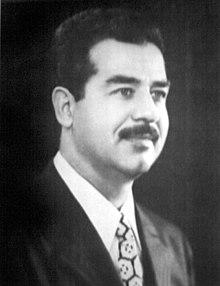 صدام حسين رجل وسيرة ( 1 ) 220px-Saddam_Hussein_1974