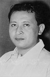 Sadjarwo Djarwonagoro Indonesian politician and government minister