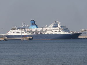 Saga Pearl II at Quay 15 Tallinn 20 September 2014.JPG