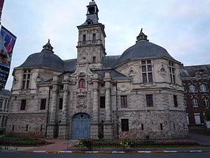 Saint-Amand Abbey - Former courthouse, Saint-Amand Abbey