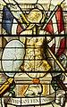 Saint-Chapelle de Vincennes - Baie 1 - Trophée d'armes (bgw17 0754).jpg