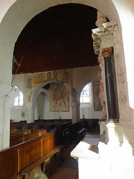 Église Saint-Martin de Saint-Martin-de-Connée (53).