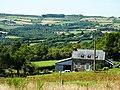 Saint-Rivoal 20 Goas-al-ludu dans un paysage vallonné.JPG