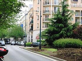 Rue du Maréchal-Leclerc à Saint-Maurice