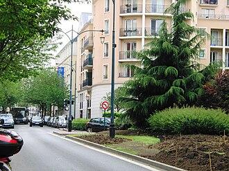 Saint-Maurice, Val-de-Marne - Rue du Maréchal-Leclerc, in Saint-Maurice