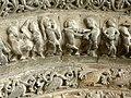 Saintes Abbaye aux Dames - Portal Archivolten 3a Märtyrer.jpg