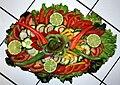 Salat Rohkost Limetten Chili Gurken Paprika Kiwi Tomaten.JPG