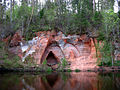 Salisburg Engelshöhle im Park von Mazsalaca, Lettland.jpg