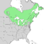 Salix lucida range map 2.png